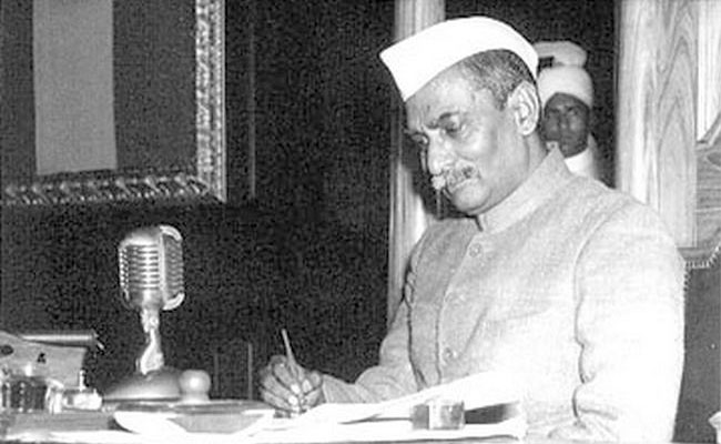 The First Indian President, Dr. Rajendra Prasad