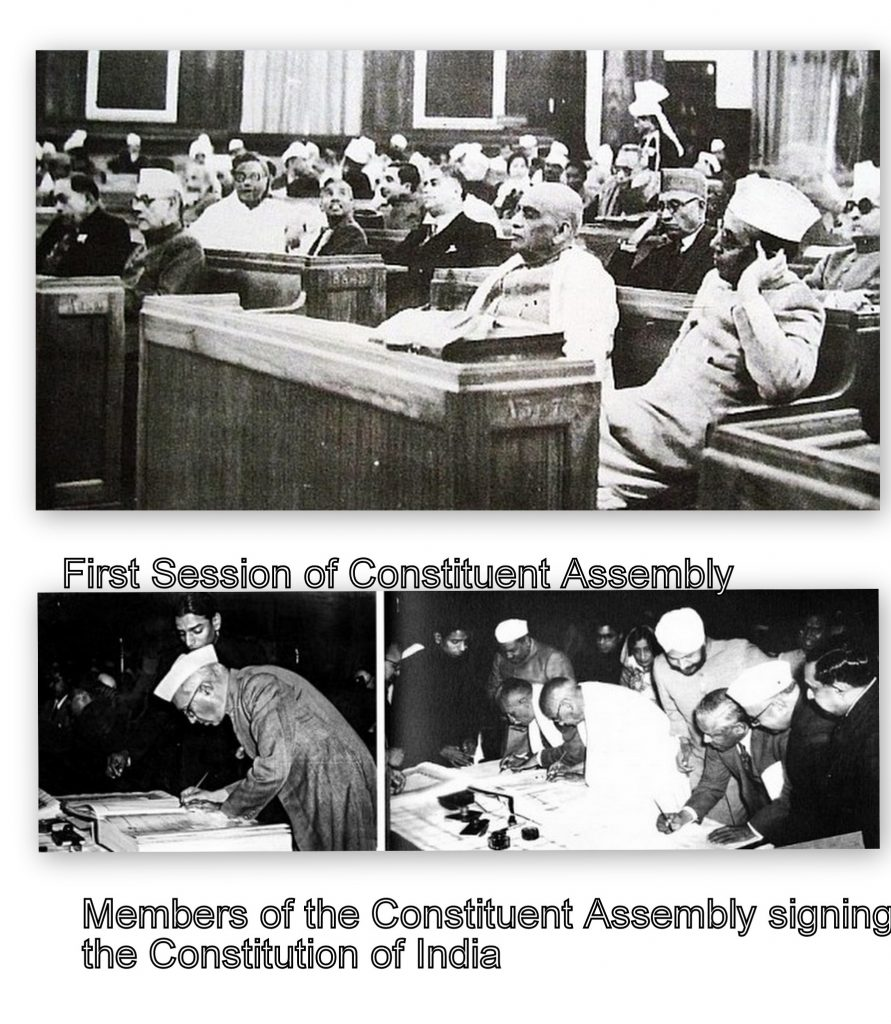 First session of Constituent Assembly