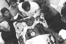 Mahatma Gandhi was assassinated.