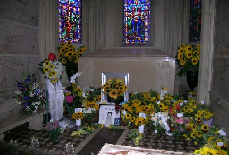 The tomb of Michael Jackson