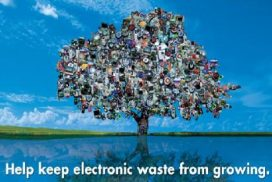 electronic waste logo