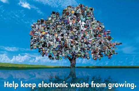 electronic waste logo
