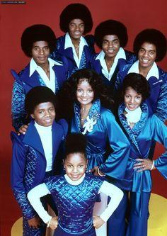 Micheal Jackson and his Siblings